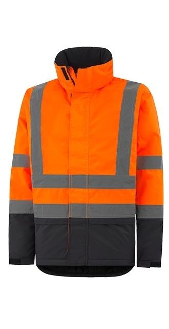 Куртка сигнальная утепленная