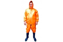 Suit protective rubberized