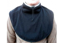 Флисовый двойной утеплитель для груди и шеи